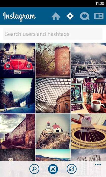 Instagram для Windows Phone